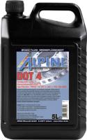 Тормозная жидкость ALPINE Brake Fluid DOT 4 / 0101104 (5л) -