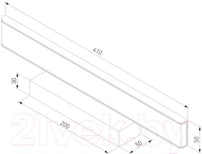 Подсветка для картин и зеркал Elektrostandard Sankara MRL LED 16W 1009 IP20 (серебристый)