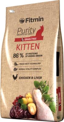 Корм для кошек Fitmin Purity Kitten (10кг)