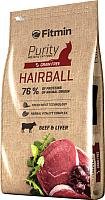 Корм для кошек Fitmin Purity Hairball (1.5кг) -