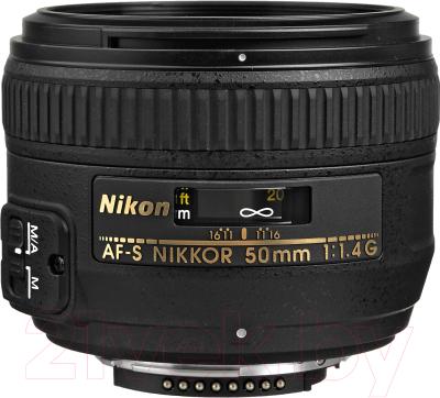 Стандартный объектив Nikon AF-S Nikkor 50mm f/1.4G недорого