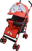 Детская прогулочная коляска Alis Honey (красный) -
