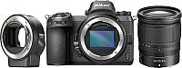 Беззеркальный фотоаппарат Nikon Z6 + 24-70mm f4 + переходник FTZ Kit -