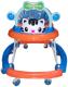 Ходунки Alis Счастливый малыш 8 / MLT-615A (синий) -