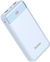 Портативное зарядное устройство Yoobao Power Bank M20Pro (20000 мАч, синий) -