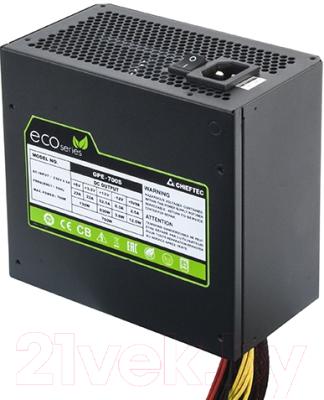 Блок питания для компьютера Chieftec Eco GPE-700S 700W