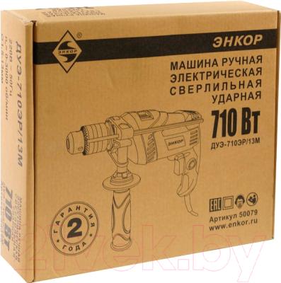 Дрель Энкор ДУЭ-710ЭР/13М