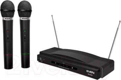 Радиосистема микрофонная Sven MK-820 (черный)