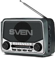 Радиоприемник Sven SRP-525 (серый) -