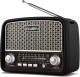 Радиоприемник Sven SRP-555 (черный/серебристый) -