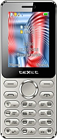 Мобильный телефон Texet TM-212 (серый) -