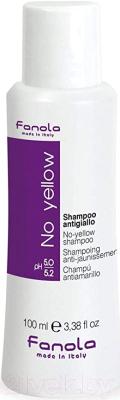 Шампунь для волос Fanola No Yellow антижелтый (100мл)