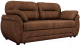 Диван Лига Диванов Бруклин 111 / 60235 (велюр, коричневый) -