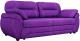 Диван Лига Диванов Бруклин 111 / 60236 (велюр, фиолетовый) -