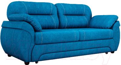 Диван Лига Диванов Бруклин 111 / 60238 (велюр, голубой)