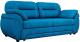 Диван Лига Диванов Бруклин 111 / 60238 (велюр, голубой) -