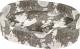 Лежанка для животных Ferplast Dandy 80 Cotone / 82944083 (карта мира на сером) -