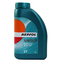 Моторное масло Repsol Nautico Outboard & Jet Ski 2T / RP129Y51 (1л) -