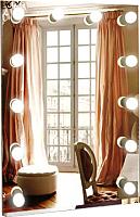 Зеркало Континент 12 ламп 60x80 -