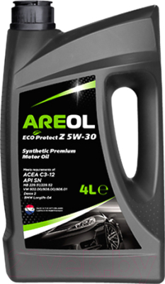 Моторное масло Areol Eco Protect Z 5W30 / 5W30AR008 (4л)