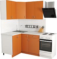 Готовая кухня Хоум Лайн Агата 1.2x1.4 (оранжевый) -