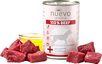 Корм для собак Nuevo Sensitive Beef / 95151 (400г) -