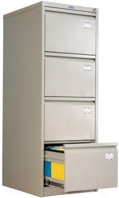Шкаф металлический Практик AFC-04