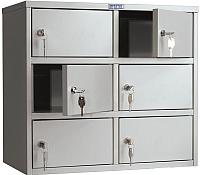 Шкаф металлический Практик AMB-45/6 -
