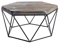 Обеденный стол Грифонсервис Loft СМ2 (черный/палисандр) -