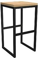 Табурет барный Грифонсервис Loft СЛ2 (черный/сосна) -