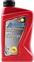 Моторное масло ALPINE RSL C1 5W30 / 0101601 (1л) -