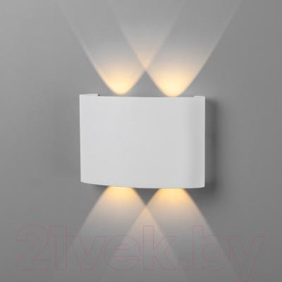 Бра уличное Elektrostandard 1555 Techno LED Twinky Double (белый)