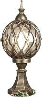 Светильник уличный Elektrostandard Sirius S (черное золото) -