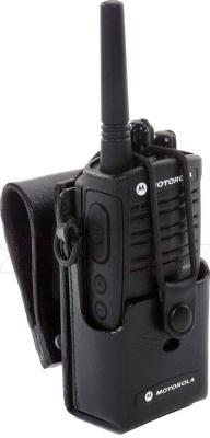 Чехол для рации Motorola XTNi (кожаный) - с рацией внутри