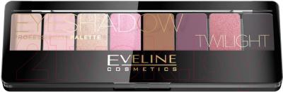 Палетка теней для век Eveline Cosmetics Eyeshadow Professional Palette 02 Twilight guerlain palette golden bee палетка теней для век