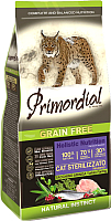 Корм для кошек Primordial Cat Neutered Turkey & Herring / MGSP1306 (6кг) -