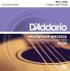 Струны для акустической гитары D'Addario EJ26 Custom Light 11-52 (фосфор/бронза) -