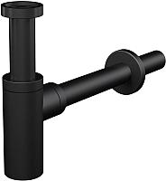 Сифон Alcaplast Design A400 (черный матовый) -