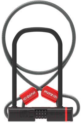 Велозамок Zefal K-Traz U13 Code + Cable / 4944C