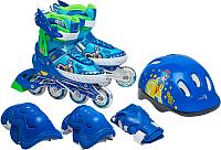 Роликовые коньки Sundays PW-153B-5D (XS, set blue) -