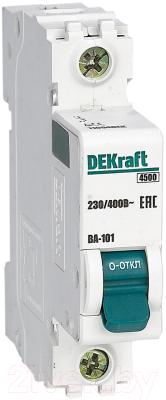 Выключатель автоматический Schneider Electric DEKraft 11004DEK