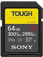 Карта памяти Sony SD TOUGH UHS-II 64ГБ (SF64TG) -