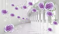 Фотообои Citydecor Цветочный декор 8 3D (500x254) -