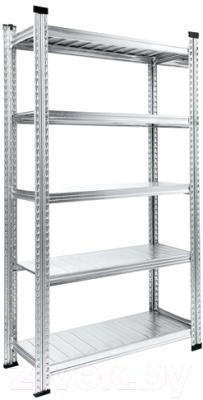 Стеллаж металлический Metalsistem S0.B.120.50/5