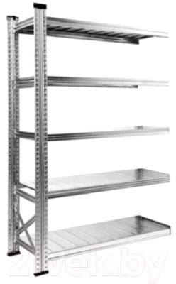 Секция для стеллажа Metalsistem S0.B.120.50/4d