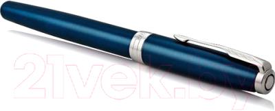 Ручка-роллер имиджевая Parker Sonnet Subtle Blue Lacquer CT 1948087
