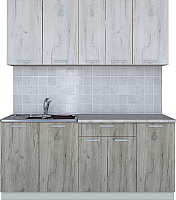 Готовая кухня Интерлиния Мила Лайт 1.8 (дуб белый/дуб серый) -