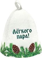 Шапка для бани Главбаня Еловая / А3602 -