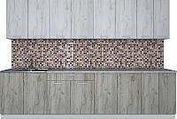 Готовая кухня Интерлиния Мила Лайт 3.0 (дуб белый/дуб серый) -