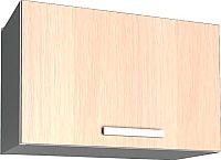 Шкаф под вытяжку Интерлиния Мила Лайт ВШГ50-360 (дуб молочный) -